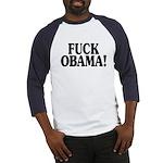 Fuck Obama! (baseball jersey)