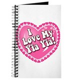 I Love My Yia Yia Journal