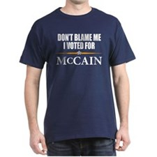 I Voted for McCain T-Shirt