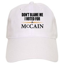 I Voted for McCain Baseball Cap