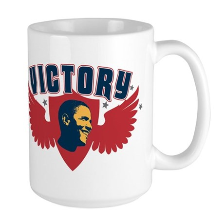Barack Obama Presidential Vic Large Mug