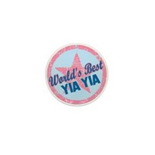Worlds Best Yia Yia Mini Button (10 pack)