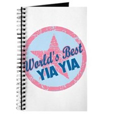 Worlds Best Yia Yia Journal