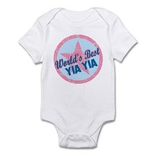 Worlds Best Yia Yia Infant Bodysuit