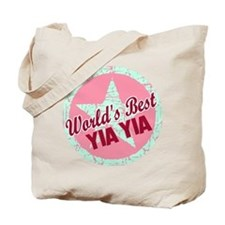 The World's Best Yia Yia Tote Bag