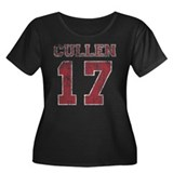 Vintage Cullen 17 Varsity Women's Plus Size Scoop