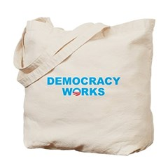Democracy Works (Obama) Tote Bag