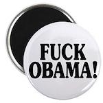 """Fuck Obama! (2.25"""" magnet)"""
