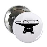"Cute Metal smiths 2.25"" Button"