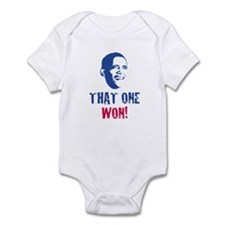 OBAMA - THAT ONE WON! Onesie