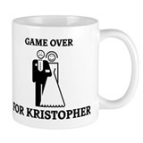 Game over for Kristopher Coffee Mug
