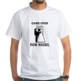 Game over for Nigel Shirt