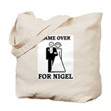 Game over for Nigel Tote Bag