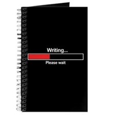 Writer Loading Bar Journal