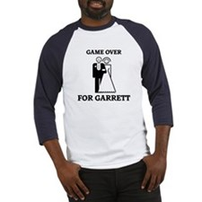 Game over for Garrett Baseball Jersey