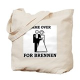Game over for Brennen Tote Bag