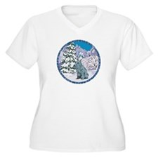 Winter Wonderland Schnauzer T-Shirt