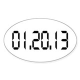 01.20.13 Oval Sticker (50 pk)