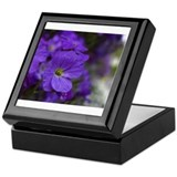 PURPLEFLOWERS Keepsake Box