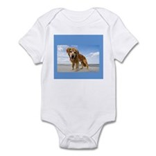 BEACH DOG Infant Bodysuit
