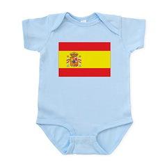 Spain Flag Infant Bodysuit