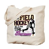 All Field Hockey Tote Bag