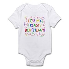 It's My First Birthday Infant Creeper