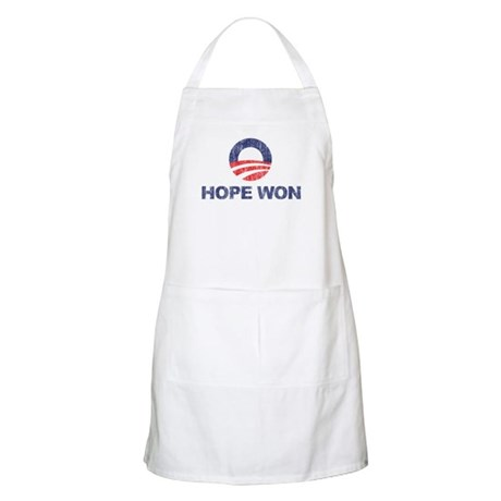 Hope Won (Obama) BBQ Apron