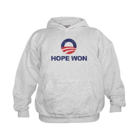 Hope Won (Obama) Kids Hoodie