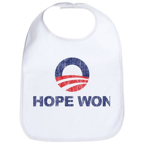 Hope Won (Obama) Bib