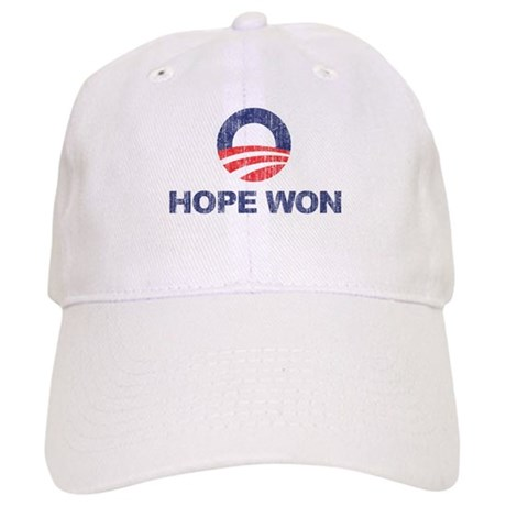 Hope Won (Obama) Cap
