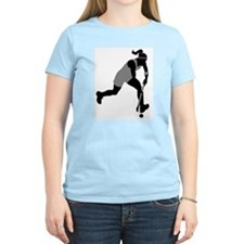 Field Hockey Girl T-Shirt