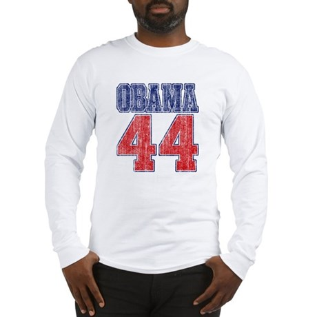 Obama 44th President (vintage Long Sleeve T-Shirt