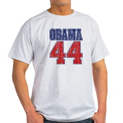 Obama 44th President (vintage Light T-Shirt