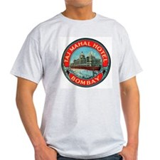 Bombay India (Front) Ash Grey T-Shirt