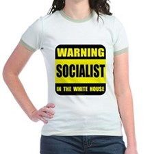 Socialist obama in white house T