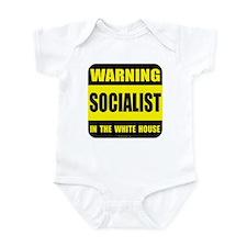 Socialist obama in white house Infant Bodysuit