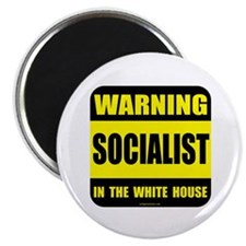 """Socialist obama in white house 2.25"""" Magnet (10 pa"""