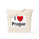 I Love Prague Tote Bag