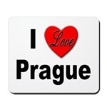 I Love Prague Mousepad