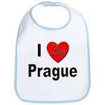 I Love Prague Bib