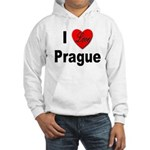 I Love Prague (Front) Hooded Sweatshirt