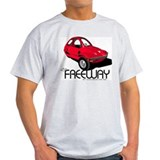 Red HMV Freeway Ash Grey T-Shirt