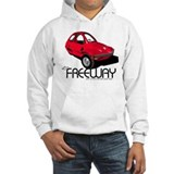 Red HMV Freeway Jumper Hoody