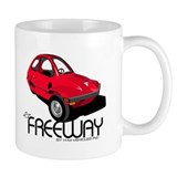 Red HMV Freeway Small Mug