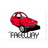 Red HMV Freeway Postcards (Package of 8)