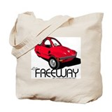 Red HMV Freeway Tote Bag