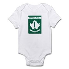 Trans-Canada Highway, Alberta Infant Bodysuit