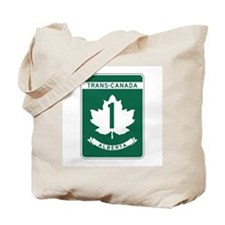 Trans-Canada Highway, Alberta Tote Bag