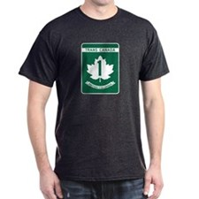 Trans-Canada Highway, British Columbia T-Shirt